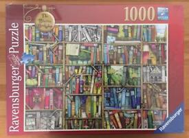 BRAND NEW Ravensburger Colin Thompson - The Bizarre Bookshop, 1000pc Jigsaw Puzzle