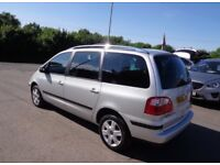 FORD GALAXY 1.9 DIESEL 7 SEATER NOT VAUXHALL ZAFIRA VW SHARAN TOURAN TOYOTA VERSO COROLLA CHEAP FREE