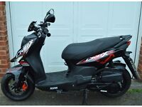 Sym Crox 125 Motorcycle/Scooter Black&Red