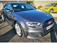 2017 Audi A3 1.5 TFSI S Line Saloon**21k Miles**8 Months Warranty**PCP & Finance Available**