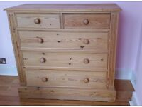 Solid Pine High Quality Chest of Drawers