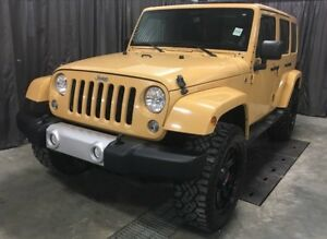 2014 Jeep Wrangler Sahara Unlimited *Aftermarket Rims/Tires* *Le