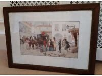 antique french picture