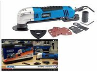 *New* Draper Oscillating Multi -Tool kit 300W 230V