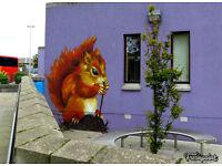 Graffiti art service Inverness