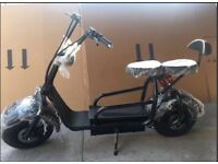 Electric Harley scooter 60v 1000w ,comes with suspension side mirrors