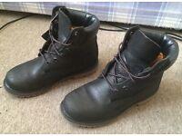 Timberland Women's 6-Inch Premium Leather Black Boots Primaloft 200 gram Waterproof UK 4.5 only £35