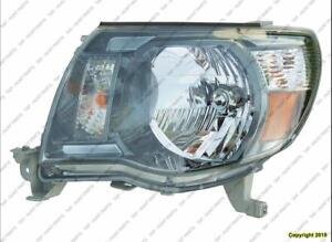 Head Lamp Driver Side With Sport Package 09-10 High Quality Toyota Tacoma 2009-2010