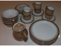 Denby Viceroy dinner and tea service - for sale as sets or separately as spares