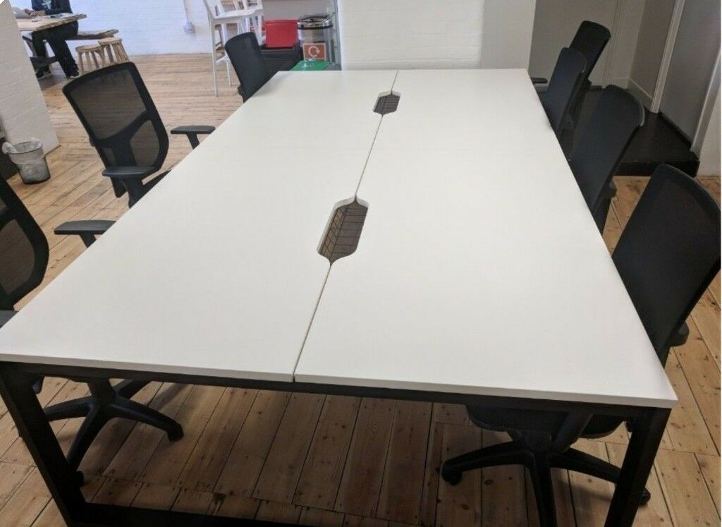 Sturdy Office Desk To Sturdy Office Desk Four Person Perfect Size In Whitechapel