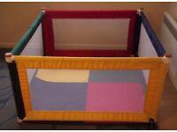 Liberty House Toys TikkTokk Fabric Square Colour Playpen