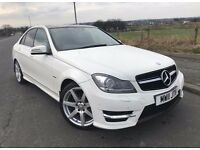 Mercedes-Benz C Class 2.1 C220 CDI BlueEFFICIENCY Sport 7G-Tronic 4dr