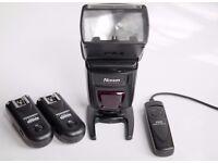 Canon Flash Nissin Di622 MkII + 2 Flash trigger yongnuo + Remote Control Shutter Release