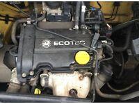 VAUXHALL CORSA 1.0 (ENGINE CODE: Z10 XEP) ENGINE FOR SALE