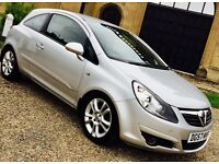2007 57 VAUXHALL CORSA 1.3 CDTI F/S/H 1 OWNER 1 YEARS MOT LOW MILES