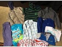 Boys bundle of clothes aged 5-6