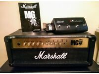 Marshall MG100FX - immaculate guitar amp with footswitch and manual