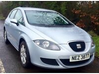 07 1.9 SEAT LEON referrence *FULL YEARS MOT* not (jetta,passat,golf,sierra,bora,twincam,bmw)