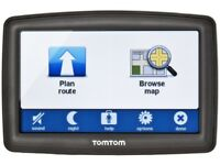 SATNAV TOMTOM XL IQ ROUTES 2 WITH UK MAPS. GOOD CONDITION AND WORKS PERFECTLY. 4.3 INCH SCREEN