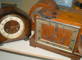 3 Mantel Chiming Clocks - 2 are Westminster Chimes - Bentime, Haller and Another
