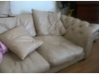 leather soft chedterfield massive