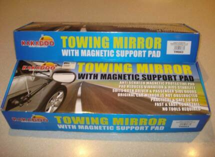 ** Price Reduced ** Towing Mirrors (Pair) - Magnetic Hillarys Joondalup Area Preview