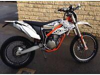 KTM FreeRide 350. 2012. Very low use.