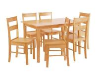 Dining table and 4 chairs (used)