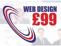 ▷ Affordable Website Design Service from £99 ▷ Cheap Wordpress CMS ▷ Web ▷ Logo ▷ Graphics