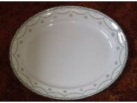 A Cheltenham vintage oval meat plate