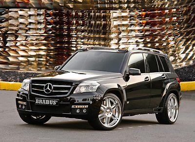 Brabus Tieferlegungsfedern Mercedes Benz GLK 280 & 350 ( X204 )