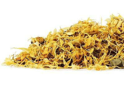Calendula Flowers (Calendula officinalis) Whole flowers & petals,  Organic  1 oz