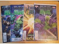 Marvel Thanos vs Hulk