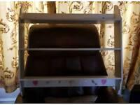 White 3 shelf unit