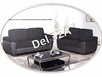 **SPECIAL OFFER** - DEL 3+2 SEATER - WAS £799 - FREE DELIVERY- AVAILABLE IN CHOCOLATE BROWN/BLACK