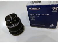 Olympus 45mm f1.8 M.Zuiko ET-M4518 45mm f/1.8 AF Lens + HOYA UVC Filter