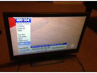 television TV Bush with freeview and remote