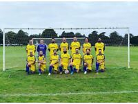 Men's Sunday league football team looking for new players