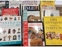 Antiques and collectibles reference books