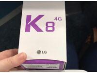 LG K8 unlocked any network ***Brandnew in box***100% original phone***07587588484***