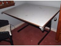 Large Drawing Desk / Drafting Table