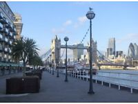 Central holiday rental, 22-28 Sep, at Tower Bridge