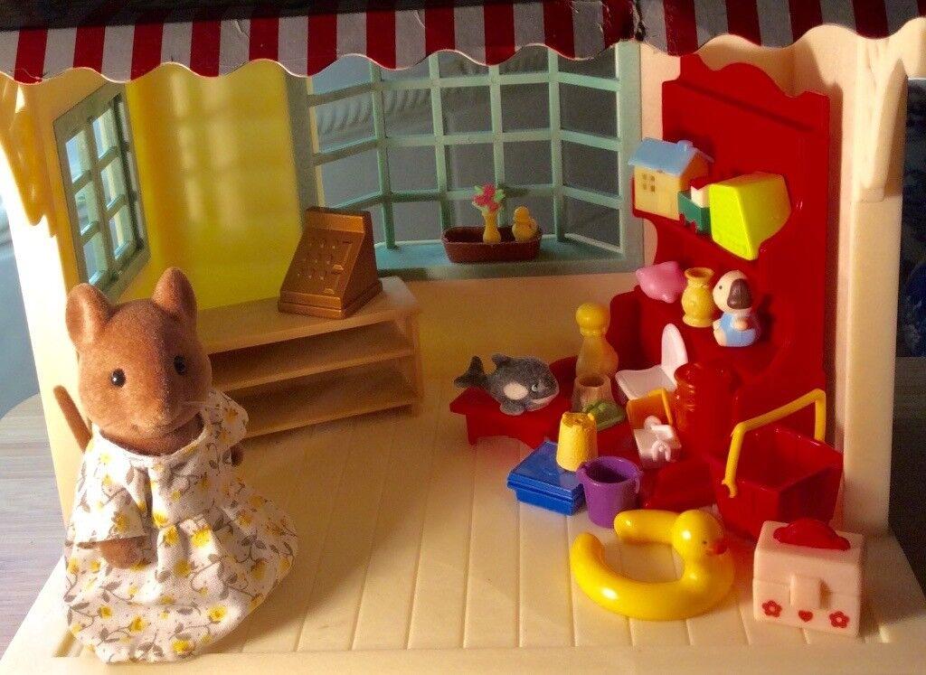 Sylvanians Betty's Toy Shop.