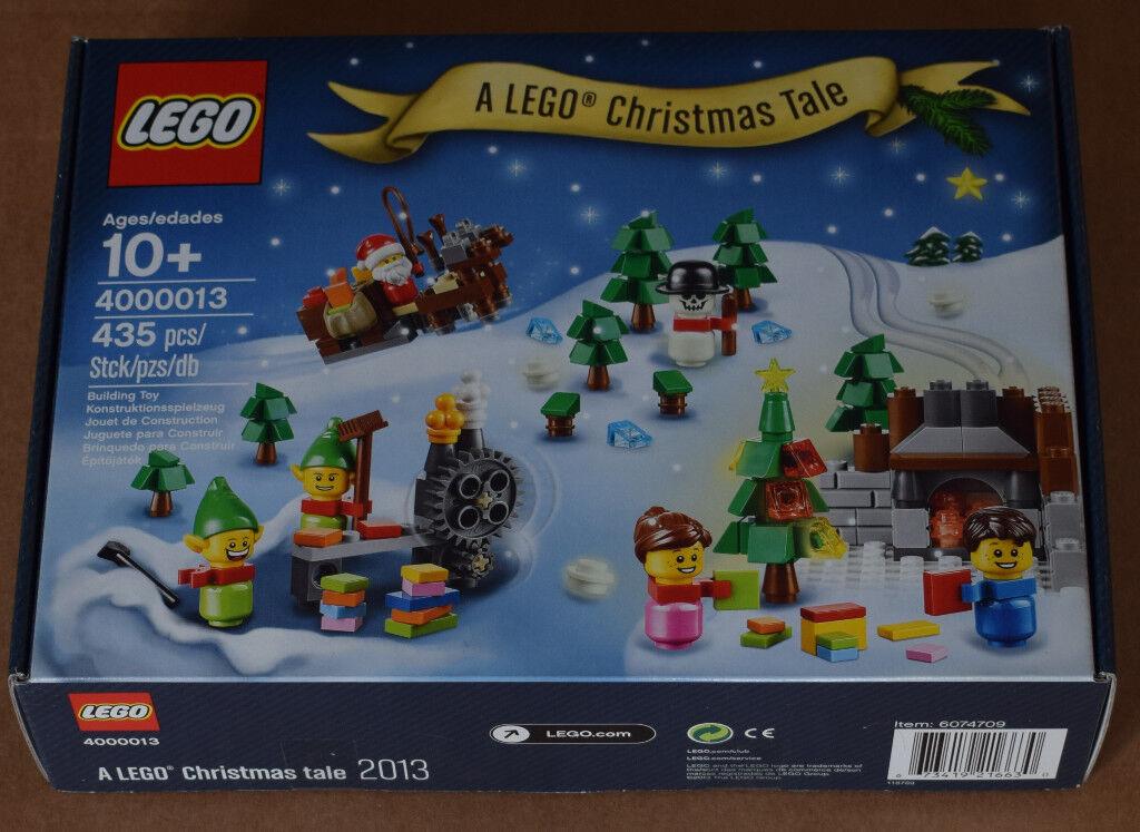 LEGO 4000013 - A LEGO Christmas Tale (2013) - COLLECTABLE - GIFT IDEA!