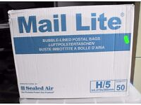 Mail Lite Self Sealing Bubble Lined Postage Bags