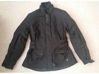 Ladies Motorbike Jacket by Frank Thomas - Size medium (approx 12)