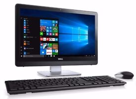 Dell All in One Core2Duo, 4GB RAM, 250 GB HDD, Windows 10 Pro, Microsoft Office