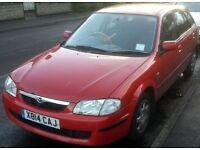 Mazda 323F 1.4 LXi petrol 5 door hatchback 6 months MOT registered 2000
