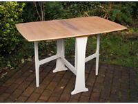 Retro Vintage G Plan Oak Gate Leg Drop Sides Rectangular Dining Table