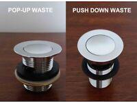 **** Brand New Quality Basins Waste – Still Boxed £10 each ***